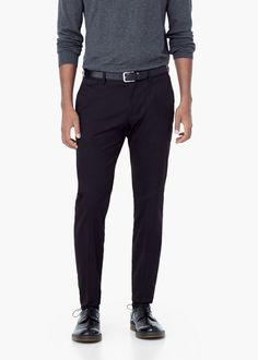 Chino smart algodón negro - 46