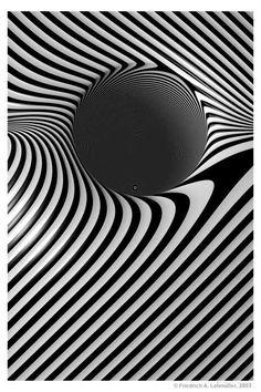 art | ... Gallery Friedrich A. Lohmueller, The Deepth, Op-Art, Psycodelic +++ BLACK HOLE &YHB+_)(*&^%$#@!ZXCVBNM<>?&YHB