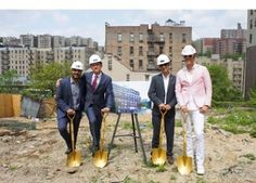 HAP Investments Announces Washington Heights Groundbreaking For New Rental Project Designed By Karim Rashid, built by MBI member Deluxe Building Systems