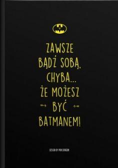 Zeszyt dla fanów Batmana!