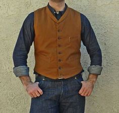 Duck Vest. Seems easy enough to recreate, like the style.