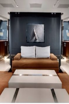 Luxury bedroom - on a private jet!