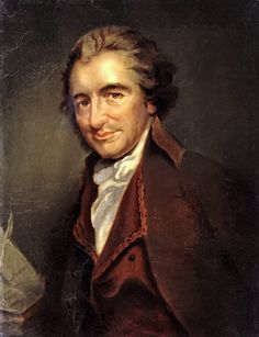 Thomas Paine, English author of Common Sense and other pamphlets which delved into the rights of the individual and critiqued institutions which crushed these rights. I admire his fierce independence.