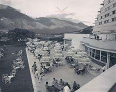 Terraza Hotel Tamanaco, 1950s Caracas, Venezuela.