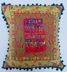 Cornflower Scatter Pom Pom Blues, Ice Cream, Throw Pillows, No Churn Ice Cream, Toss Pillows, Cushions, Icecream Craft, Decorative Pillows, Decor Pillows