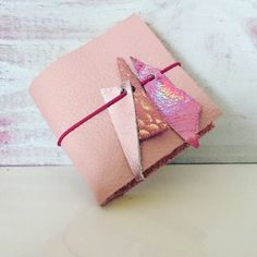 Mini Sticky Note Pad & Leather Cover by Mekunia on Etsy https://www.etsy.com/listing/495418414/mini-sticky-note-pad-leather-cover