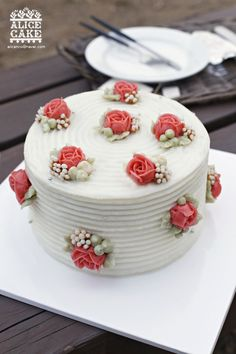 앨리스케이크의 쁘띠 로즈 케이크입니다. : 네이버 블로그