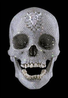 #Swaroski #skull