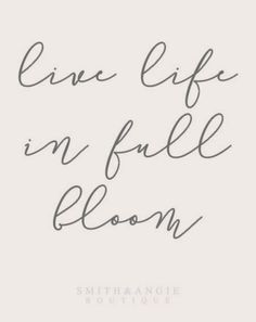 Hello Spring! Love this inspirational spring quote!
