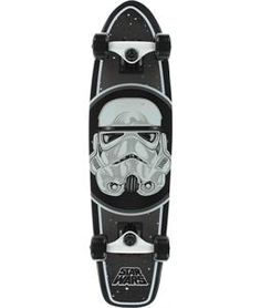 Santa Cruz Star Wars Stormtrooper Cruzer Black x Complete Skateboard Cruiser Boards, Complete Skateboards, Skater Girls, Black 7, Skateboarding, Golf Bags, Star Wars, Shoe Bag, Stars