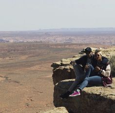 Cute couple at the Grand Canyon