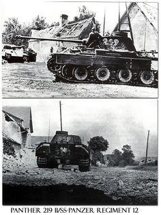 Panther 219 II of 2./Kompanie, Panzer-Regiment12 12th SS-Hitlerjugend Division