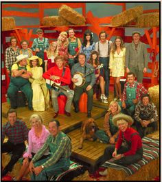 Watching Hee Haw on Saturdays at my grandma's house