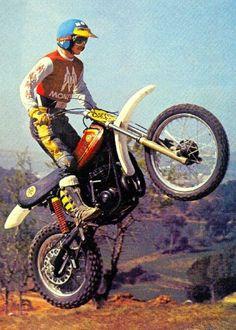 MONTESA CAPPRA 360 VB Vintage Bikes, Vintage Motorcycles, Motocross Riders, Moto Cross, Valentino Rossi 46, Trial Bike, Off Road Racing, Vintage Motocross, Dirtbikes