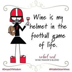 I need a helmet #WineWednesday