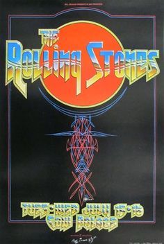 Rolling Stones ok but not near a fav Rolling Stones Concert, The Rolling Stones, Rolling Stones Album Covers, Tour Posters, Music Posters, Poster Photography, Psychedelic Rock, Vintage Music, Stone Art