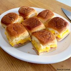 Baked Breakfast Sandwiches~ Thyme for Cocktails