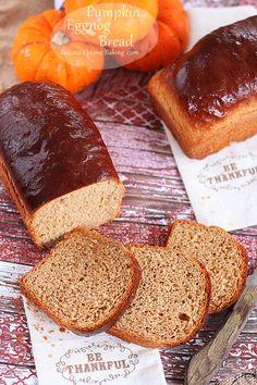 pumpkin eggnog bread roxanashomebaking.com