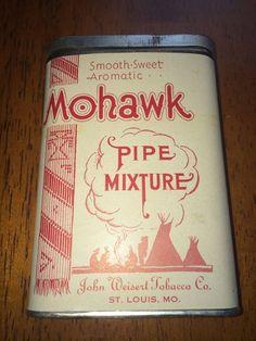 Tobacco Tin Mohawk