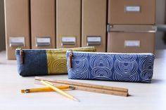 Canvas Pencil Pouch