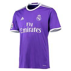 Real Madrid Away Shirt 2016 17 Sports Online Shopping Real Madrid Shop, Real Madrid Crest, New Football Shirts, Best Football Team, Football Kits, Football Jerseys, Barcelona Football, Real Madrid Football, Workout Gear