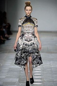 Mary Katrantzou Fall 2012 RTW #LFW