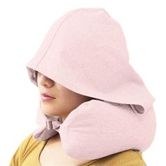 About Get comfy and block out the world on your next trip with the hooded neck pillow. This is perfect for traveling as the hood buttons down keeping it compact when not in use. Travel Tags, Neck Pillow, After Dark, Travel Essentials, Baby Items, Pink Blue, Fashion Beauty