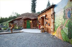 Hobbit homes from around the world THE SHIRE OF MONTANA (TROUT CREEK, MT, UNITED STATES) Price: $319.12 per night  An architectural masterpiece, this unique resort incorporates both the quirky design elements imagined by J.R.R. Tolkien and modern-day elements for a well-rounded experience.