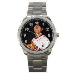 dustin pedroia1 Sport Metal Watch