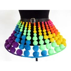 Something I wouldn't wear, but I thought this was a great idea for ravers, dancers, kandi kids, etc.. super cute and fun!!