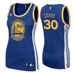 New Golden State Warriors adidas Womens Replica Stephen Curry Jersey Blue  medium Warrior Spirit d5601eaa0