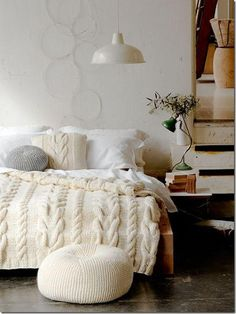 Knitted Coverlet
