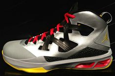 fd5fa2148ae Jordan Melo M9 Metallic Silver Black Challenge Red Tour Yellow 551879 027  Red Tour