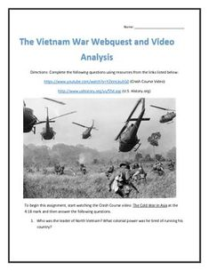 an analysis of the american conception of vietnam For nearly a decade, american combat soldiers fought in south vietnam to help sustain an independent, noncommunist nation in southeast asia after us troops departed in 1973, the collapse of south vietnam in 1975 prompted a lasting search to explain the united states' first lost war.