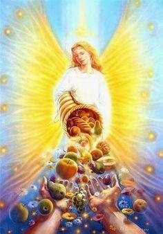 Un potente decreto, da formulare o scrivere agli amati Angeli dell'Abbondanza.