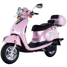 Pink Vespa Scooter!