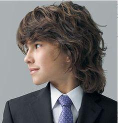 Long hair for a boy