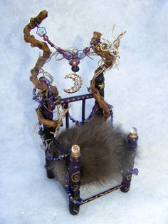 Forest Fairy Queen Throne Chair