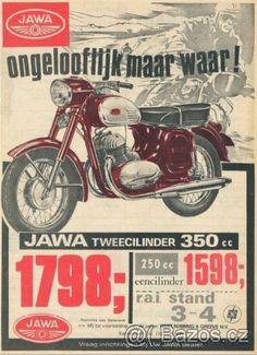 plakát jawa Bike Poster, Motorcycle Posters, Motorcycle Types, Motorcycle Art, Vintage Advertising Posters, Vintage Advertisements, Vintage Ads, Vintage Posters, Jawa 350