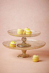 Antiquitarian Cake Stand
