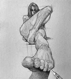 Dark Art Drawings, Cute Animal Drawings, Pencil Art Drawings, Art Drawings Sketches, Cute Drawings, Tattoo Sketches, Arte Com Grey's Anatomy, Anatomy Art, Urbane Kunst