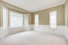 Tips for Window Installation Toronto Before Winter - Carpet installation House Windows, Windows And Doors, Carpet Installation, Room Additions, Empty Room, Bright, Living Room Paint, Home Insurance, New Room