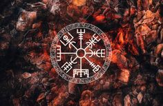 Vegvíser - runic compass, prevents getting lost