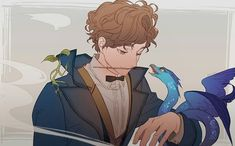 """""""There are no strange creatures, only blinkered people. There are no strange creatures Fanart Harry Potter, Harry Potter Drawings, Harry Potter Fandom, Harry Potter Memes, Fantastic Beasts Fanart, Fantastic Beasts And Where, Hogwarts, Deviantart, Hery Potter"""