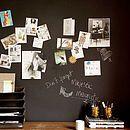 Magnetic Blackboard Wallpaper
