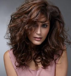 Image result for dark chestnut brown hair with highlights