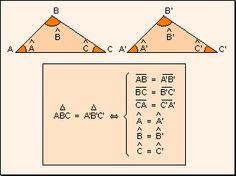 Matematica: Congruencia de figuras planas