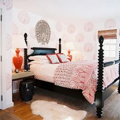 Black Four Poster Bed Design, Pictures, Remodel, Decor and Ideas