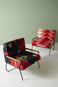 Slide View: 8: Silk Rug Accent Chair