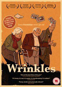 ARRUGAS/WRINKLES (15) 2011SPAIN FERRERAS, IGNACIO  DVD – £19.99 BLU RAY – £24.99 Animated film based on the comic book by Paco Roca set in a...  #worldonlinecinema.com   #worldonlinecinema  #zzspan